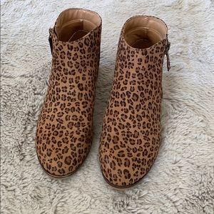 Shoes - Cheetah booties